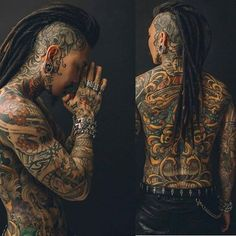 Hot Guys Tattoos, Neck Tattoo For Guys, Hair Tattoos, Badass Tattoos, Life Tattoos, Body Art Tattoos, Dreadlock Hairstyles, Braided Hairstyles, Dreadlock Mohawk