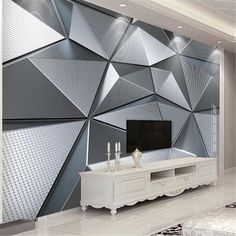 Grey Wallpaper Living Room, Bedroom Wallpaper Murals, 3d Wallpaper For Walls, 3d Wall Murals, Custom Wallpaper, Living Room Bedroom, Pattern Wallpaper, Photo Wallpaper, Adhesive Wallpaper