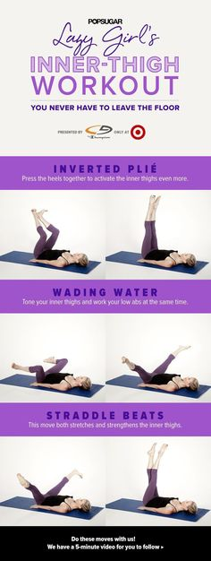 awesome Lie on Your Back, Relax, and Work Your Inner Thighs the Lazy-Girl Way
