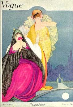1920's Vogue cover