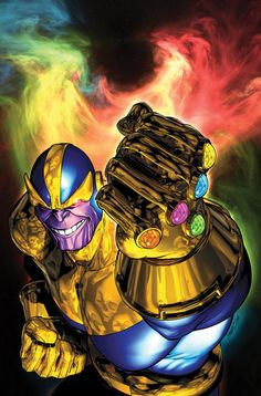 """""""Fools taking up arms against omnipotence. They rush head-on into Armageddon. So I shall provide them with a most glorious doomsday! The heavens will run red with blood. But in the end, as always, THANOS will stand triumphant."""""""