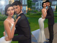 Wedding poses by siciliaforever at Sims Fans