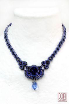 aur n098 , aurn98 , aurn098 , violet necklaces , lavender necklaces , purple necklaces