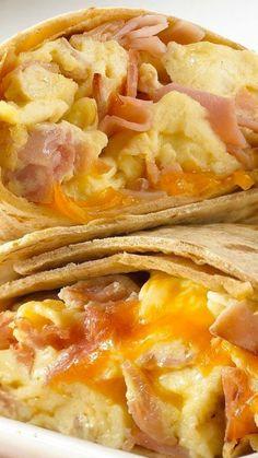 Ham & Egg Wraps Recipe