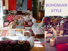 Ambientar com Val Mazeto: Bohemian style