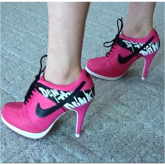 Nike heels!! These were my prom shoes :)