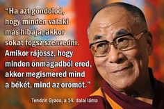 The Dalai Lama provides clarity to a world stricken with turmoil, where people are narrow in thought and sometimes indifferent to others. This is one of my favorite inspirational quotes from the Dalai Lama Great Quotes, Quotes To Live By, Me Quotes, Inspirational Quotes, Inspirational Speakers, Famous Quotes, Motivational, Funny Quotes, Citation Dalai Lama
