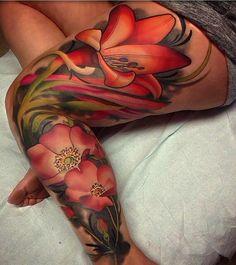 tattoo flowers for women #flower