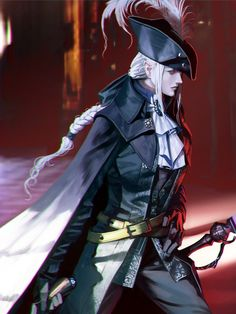 Lady Maria of the Astral Clocktower - Bloodborne - Image - Zerochan Anime Image Board Dnd Characters, Fantasy Characters, Female Characters, Fantasy Character Design, Character Concept, Character Art, Fantasy Inspiration, Character Inspiration, Kaori Anime