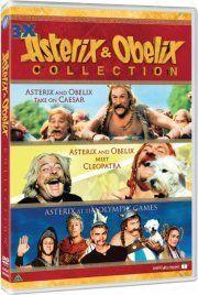 Asterix Og Obelix Film Boks DVD Film → Køb Billigt Her