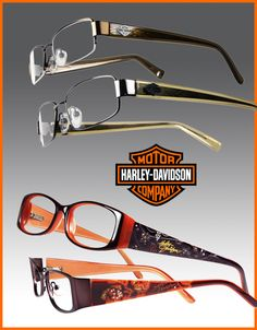 For those of you seeking eyewear that plays up your fearless, yet sophisticated style, look no further than Harley-Davidson's latest collection. With innovative details, trend-driven designs and cr…