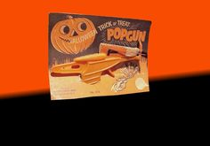 Vintage Halloween Toy ~ Halloween Trick or Treat Popgun