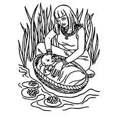 Moses Coloring Pages Free Printables Sunday School Coloring