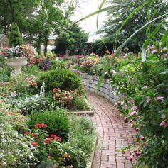 Stream Cliff Farms Garden Path