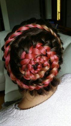 Braid around your head