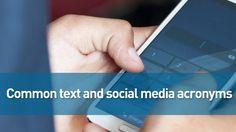 Common text/social media acronyms | 11alive.com