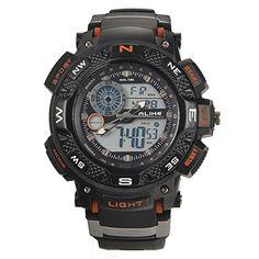 b382cf9319 G Style Shock ALIKE Waterproof Outdoor Sports Watches Men Quartz Watch  Clock Digital Military LED Wrist Watch Relogio Masculino Item Type  Digital  ...