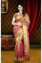 Dhola Branded Wedding Silk Saree 4850-1016 http://www.shopcost.in/bridal+silk+saree