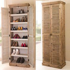 botník - Hledat Googlem Shoe Rack, Tall Cabinet Storage, Furniture, Home Decor, Castle, Rustic Closet, Closet Storage, Dresser, Set Of Drawers