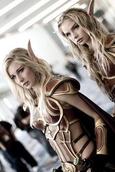 Female Blood Elves#Warcraft #Cosplay
