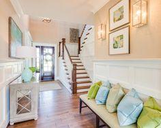 foyer   WeldenField and Rowe Custom Homes