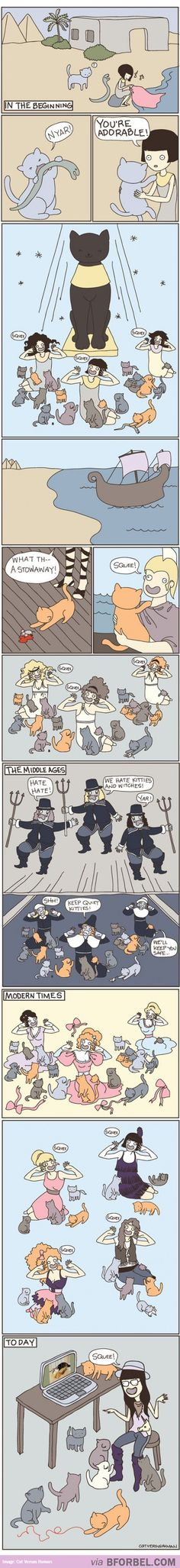 How Cats Ruled The World…