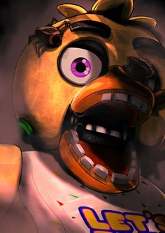 Uh chica you got a little something on your face Uh chica you got a little something on your face,Fnaf Uh chica you got a little something on your face Fnaf 1, Anime Fnaf, Five Nights At Freddy's, Freddy 's, Fnaf Golden Freddy, Fnaf Wallpapers, Fnaf Characters, Fnaf Drawings, Freddy Fazbear