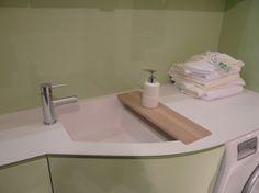 Bagno Lavanderia Piccolo : C è spazio per un piccolo lavandino così in lavanderia se non si