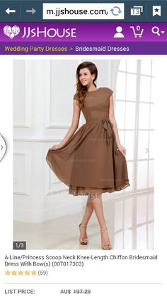 Scoop next bridesmaid dress. Like the style not colour