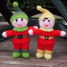 Avec de la laine: The Pixie Patch Knitted Christmas Decorations, Christmas Ornaments, Holiday Decor, Pixie, Christmas Knitting, Patches, Club, Amigurumi, Tejidos