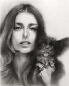 Portrait Paintings & Drawings by Ling Ly