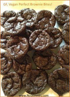 Perfect Brownie Bites - Gluten Free, Vegan & Low Carb!