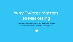 Twitter #Marketing for Business: Why & How You Should Use It:  https://blog.red-website-design.co.uk/2016/10/19/twitter-marketing-for-business-why-how-you-should-use-it-infographic/  #SocialMedia