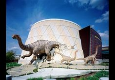 Children's Museum Indianapolis - need to recreate in my front yard... more T  - Rex though.