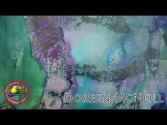Fine art show with Doreen McNeill on Colour In Your Life featuring her Amazing Abstract Paintings - YouTube