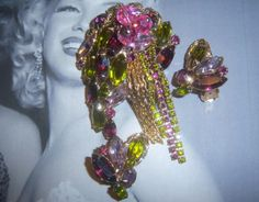 Possibly Alice Caviness Brooch and Earring by YesterdayOnceAgain