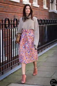 Hedvig Sagfjord Opshaug Street Style Street Fashion Streetsnaps by STYLEDUMONDE Street Style Fashion Blog