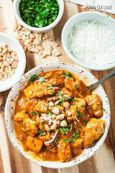 Chicken, Sweet Potato, and Coconut Stew