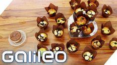 Der Low Carb Muffin mit Heidelbeeren | Galileo Lunch Break - YouTube