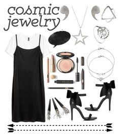 """Cosmic jewelry"" by jumainakmir ❤ liked on Polyvore featuring Latelita and Miss Selfridge"