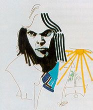 jonimitchell.com - Paintings: Neil Young