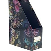 Cynthia Rowley Magazine File Cosmic Black Floral Dark Floral
