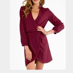 """HP 12/5Tobi Tulip Dress Host Pick  Brand new """"tulips are better than one"""" dress from Tobi.  Perfect for the holiday season! Tobi Dresses"""