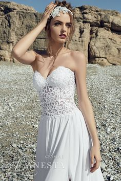 "LANESTA 2017 ""HEART OF THE OCEAN"" BRIDAL www.elegantwedding.ca"