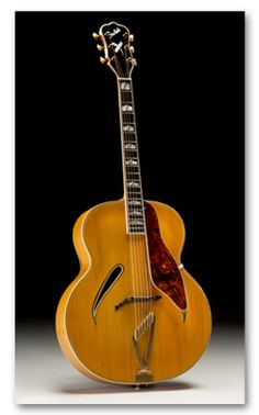 Vintage 1939 Gretsch Synchromatic 400 Archtop Acoustic Guitar