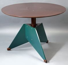 André Sornay; Adjustable Table, c1962.
