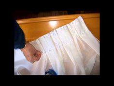 Cómo calcular la medida de las pinzas y 5 formas de coser plisados P 3/4 - La receta de la abuelita - YouTube