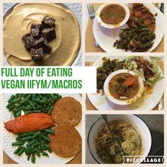 Full Day of Eating Vegan IIFYM - Vegan Macros - HollyBrownFit.com