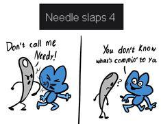 Battle for Dream Island Needle (battlefordreamisland) on Pinterest