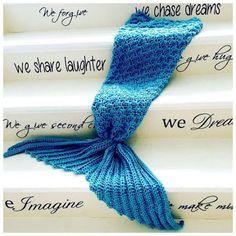 Crochet Mermaid Tail Blanket Tutorial Video